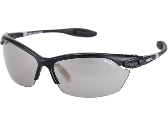 Alpina Twist Three 2.0 VL Brille, black matt